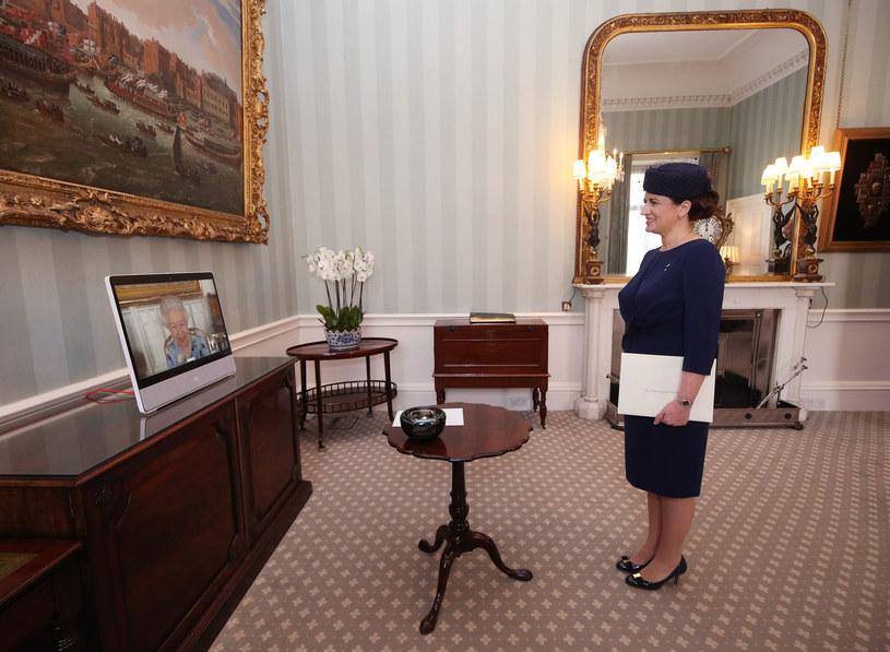Królowa Elżbieta II /Pool / Pool /Getty Images