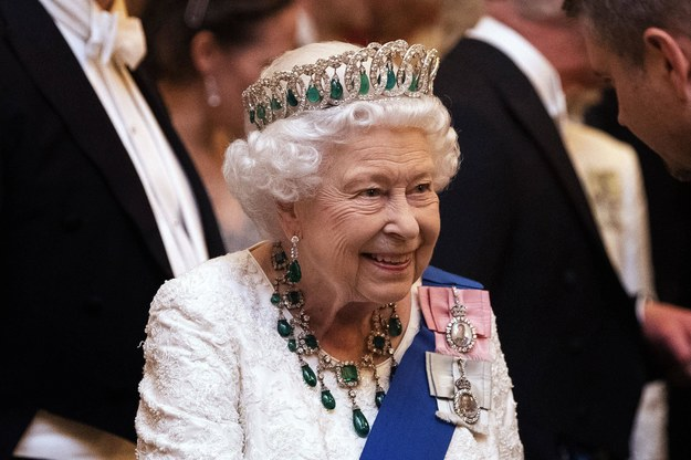 Królowa Elżbieta II /Royalfoto    /PAP/News Pictures