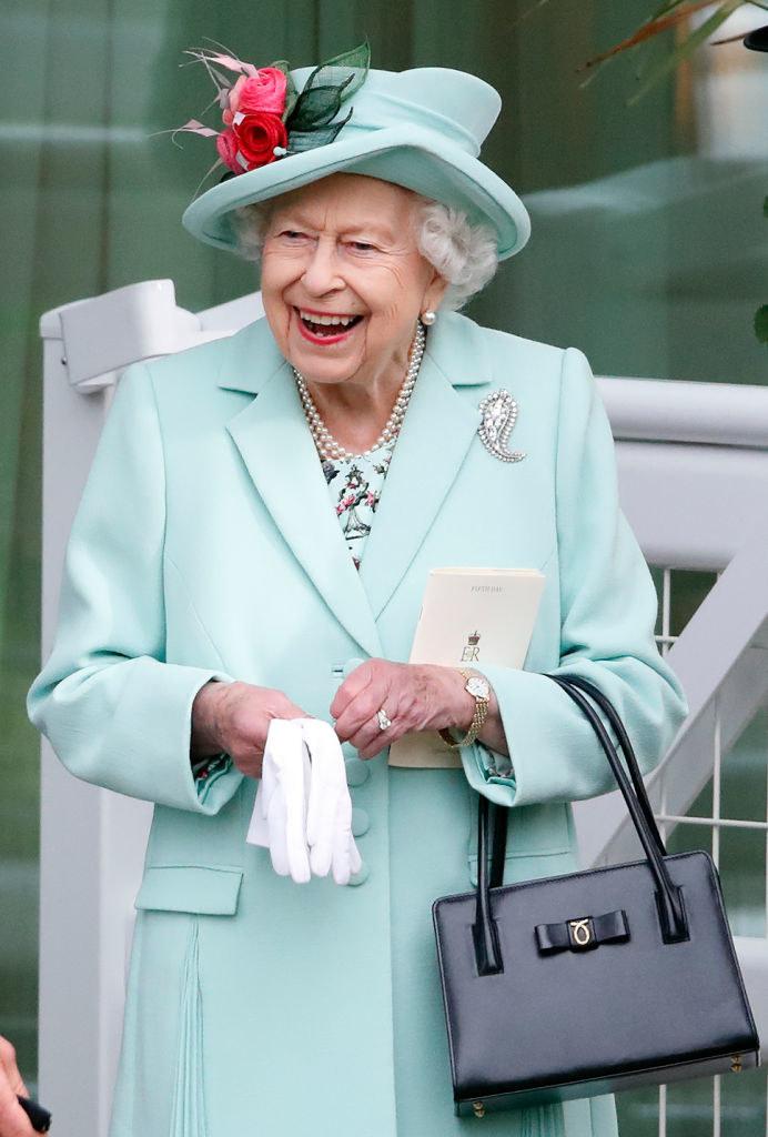 Królowa Elżbieta pojawiła się na wyścigach konnych Royal Ascot /Max Mumby/Indigo /Getty Images