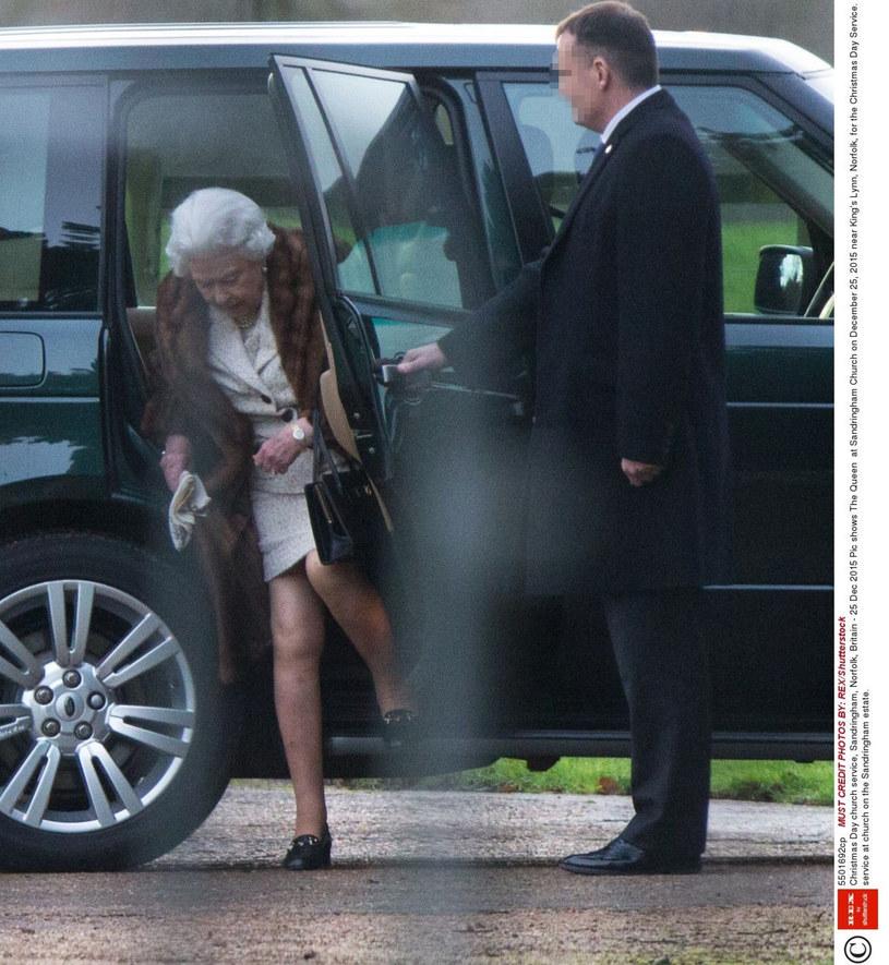 Królowa Elżbieta w Sandringham /East News