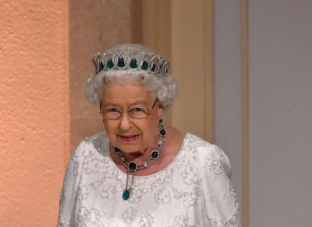 Królowa Elżbieta /ALBERTO PIZZOLI /AFP