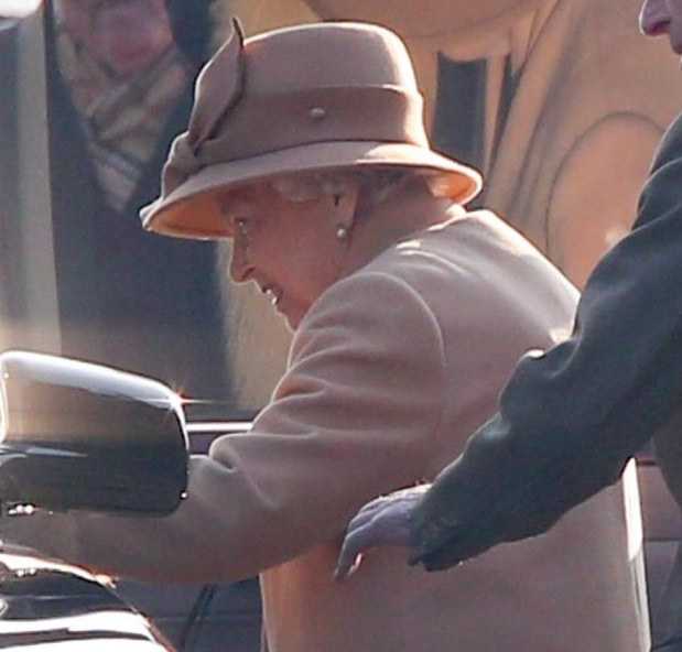 Królowa Elżbieta /Terry Harris/REX/Shutterstock /East News