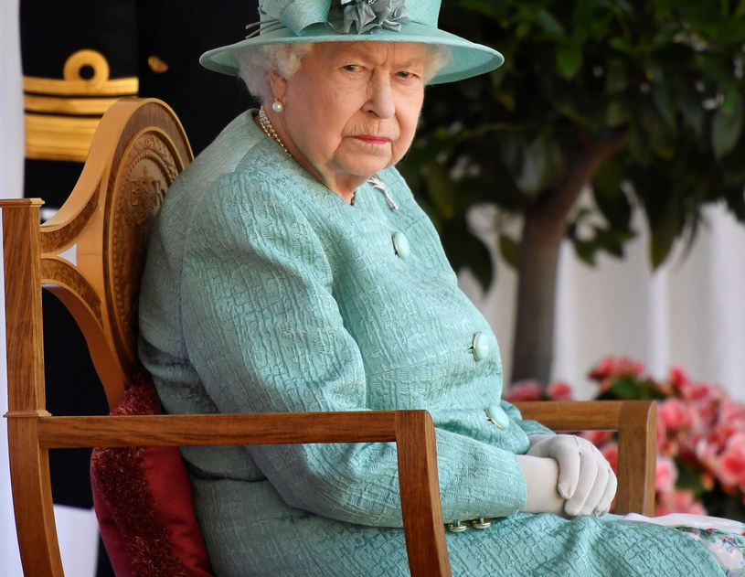 Królowa Elżbieta /Rex Features /East News