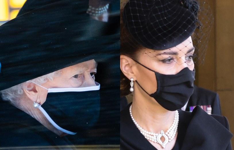 Królowa i księżna Kate /Pool /Getty Images