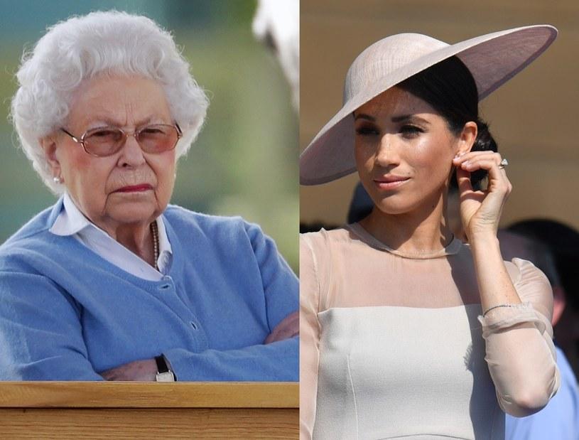 Królowa i Meghan /Getty Images