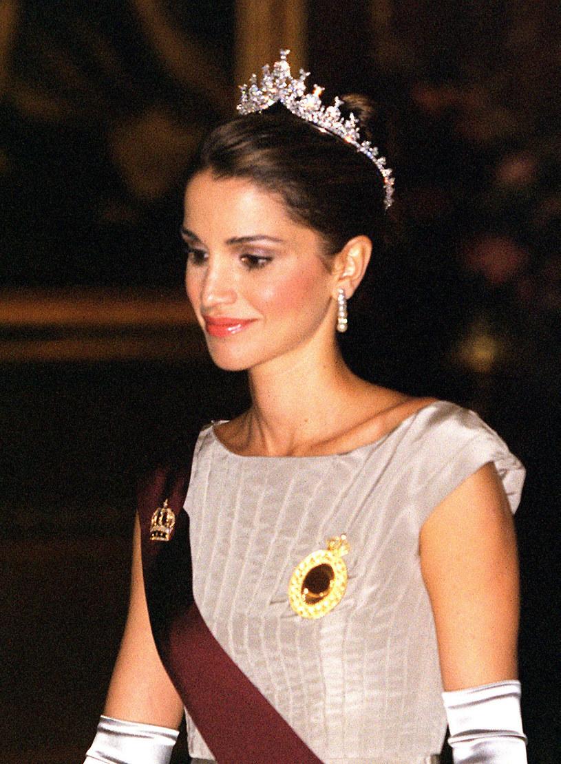 Królowa Jordanii od lat imponuje kobietom na całym świecie /Tim Graham /Getty Images