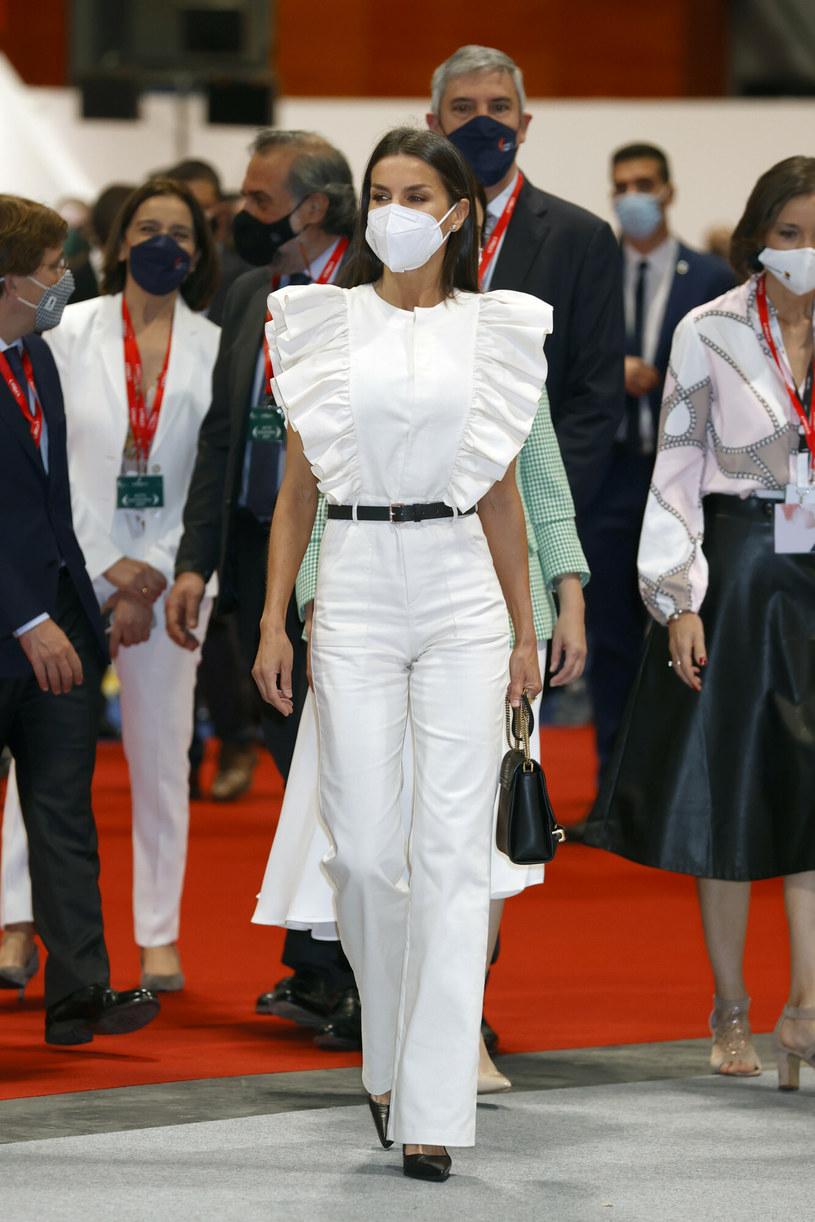 Królowa Letizia w maju tego roku /GTRES/G3 Online /East News