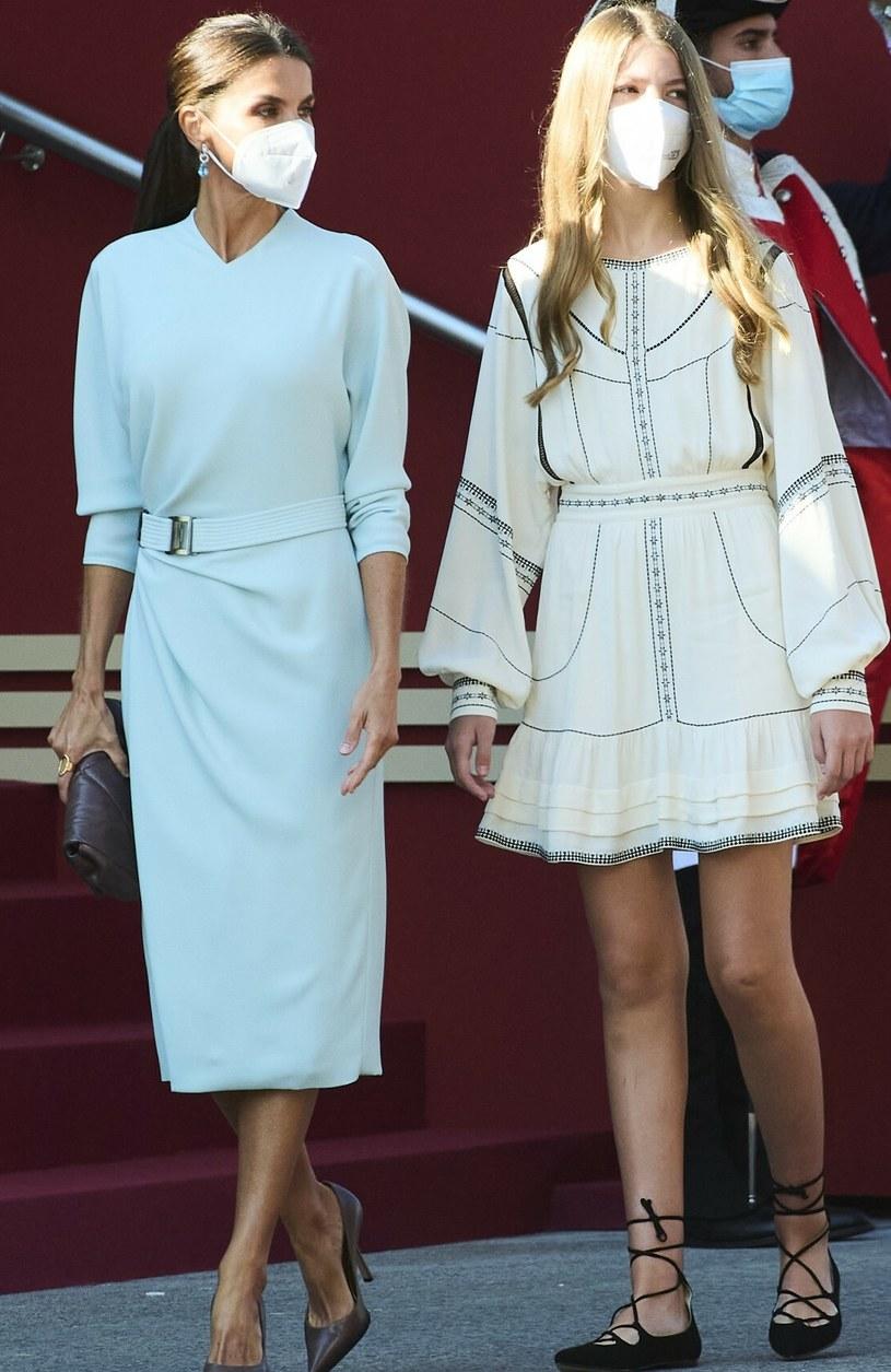 Królowa Letycja i jej młodsza córka Zofia /shutterstock /East News