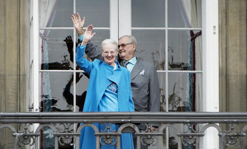 Królowa Małgorzata II i książę Henryk /Marie Hald /AFP