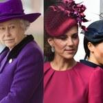 Królowa miała dość! Wezwała księżne Meghan i Kate do siebie!