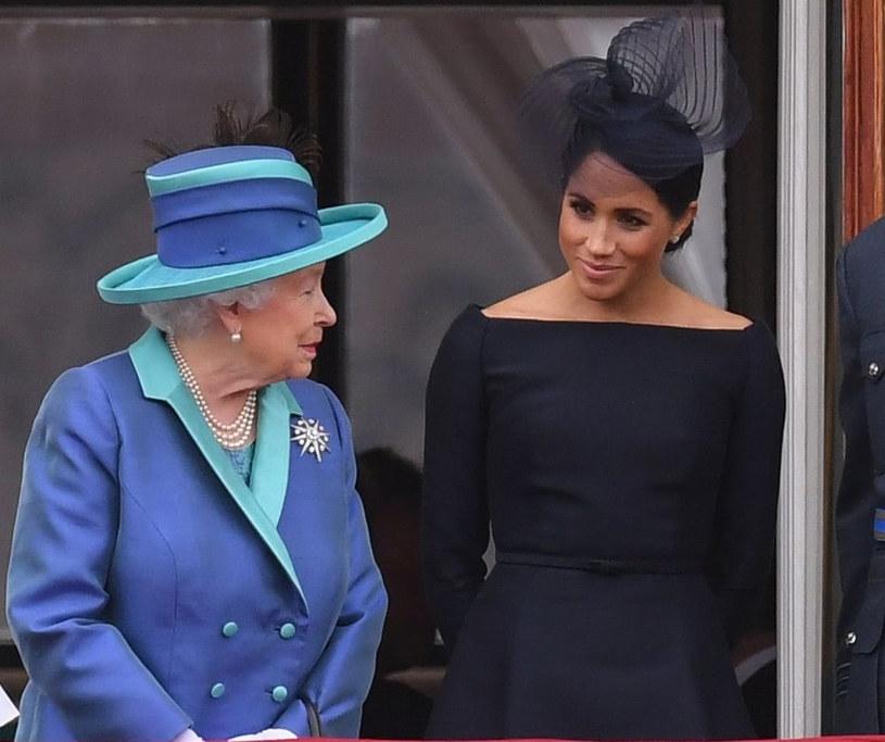 Królowa polubiła Meghan /East News