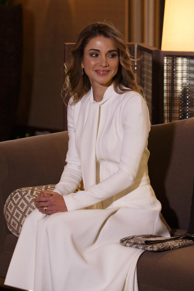 Królowa Rania /Krystian Maj /Agencja FORUM