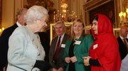 Królowa spotkała się z Malalą Yousafzai