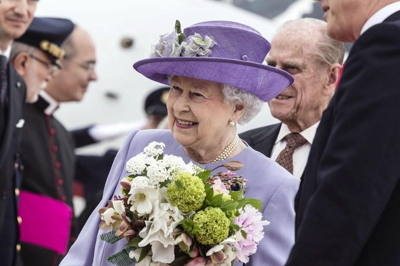 Królowa w Rzymie /AFP