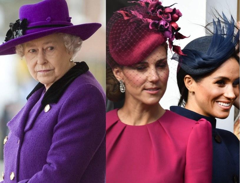 Królowa wezwała Kate i Meghan do siebie /East News