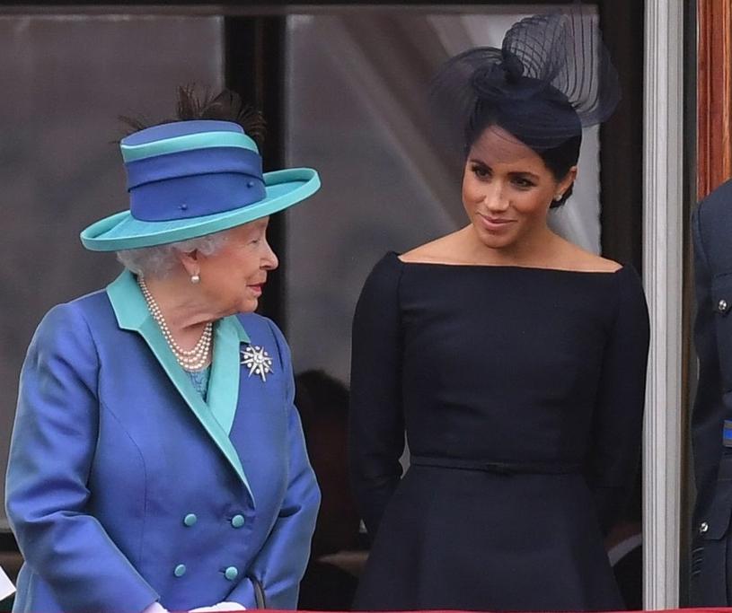 Królowa z Meghan /East News