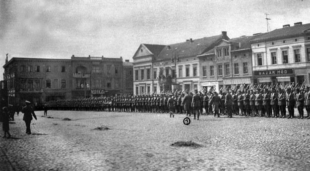 Krotoszyn, 1919; Powstanie wielkopolskie, 10 pułk strzelców wielkopolskich /reprodukcja FoKa /Agencja FORUM