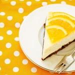 Kruche ciasto z masą serową i pomarańczami
