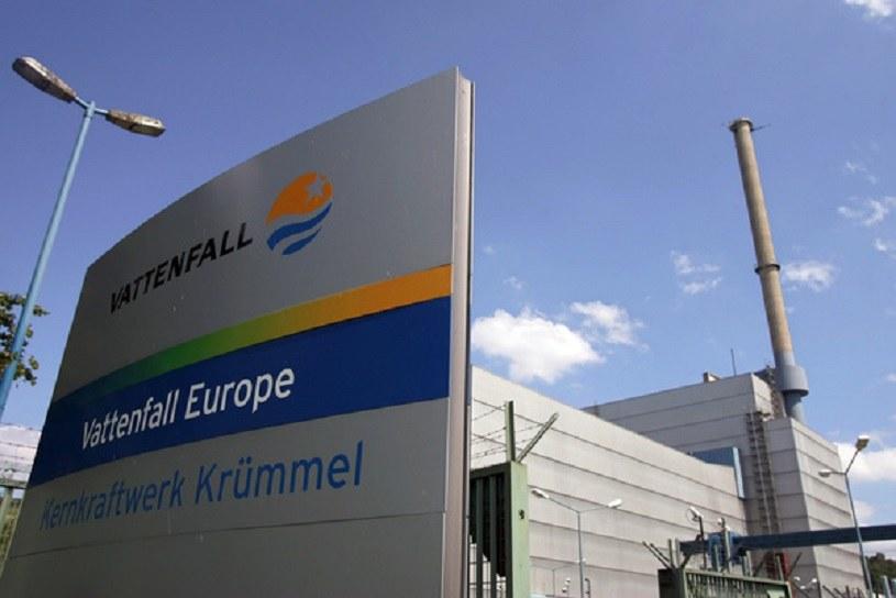 Kruemmel, elektrownia jądrowa w Geesthacht w Niemczech /AFP