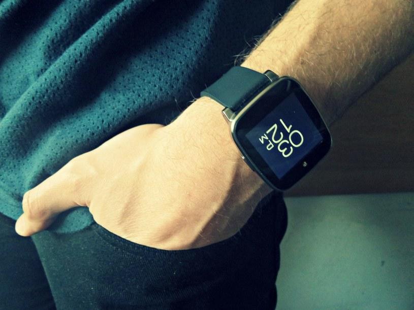 Kruger & Matz Classic - pierwszy polski smartwatch /Samsung Galaxy S5 K Zoom /INTERIA.PL