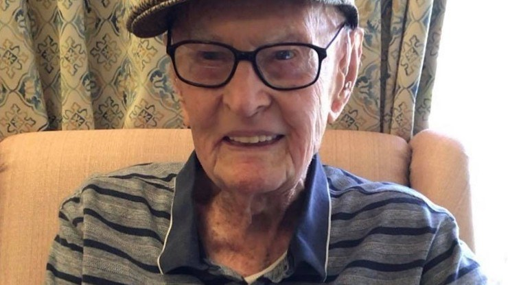 Kruger jest obecnie najstarszą osobą żyjąca w Australii (Polsat News) /
