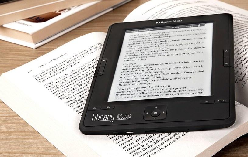 Kruger&Matz prezentuje pierwsze urządzenie do czytania e-książek /materiały prasowe