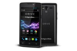 Kruger&Matz - smartfon Drive z wytrzymałą baterią