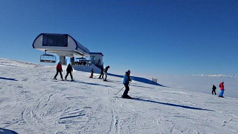 Krvavec zachywca dobrze przygotowanymi trasami i ilością śniegu, Fot. Bartosz Bednarz /INTERIA.PL