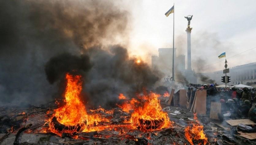 Krwawe protesty na Ukrainie. Majdan wciąż płonie