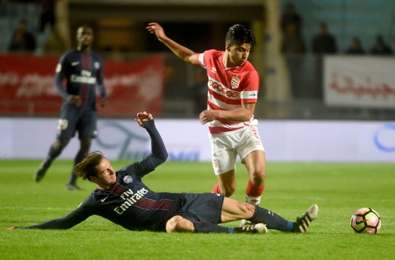 Krychowiak podczas meczu towarzyskiego z tunezyjskim Club Africain /AFP