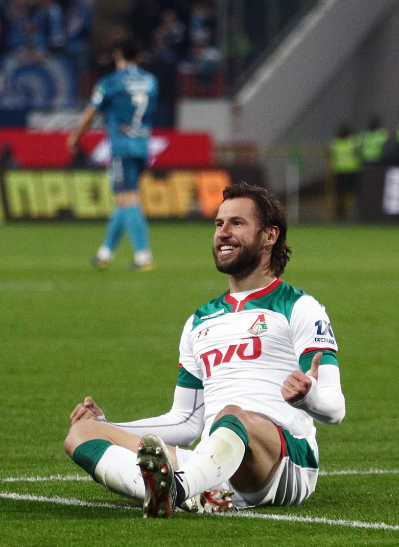 Krychowiak w meczu z Zenitem. Znowu strzelił gola. /Getty Images