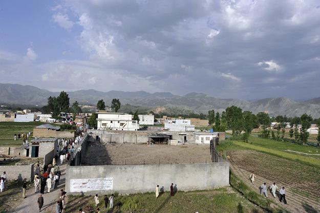 Kryjówka Bin Ladena w Pakistanie /AFP