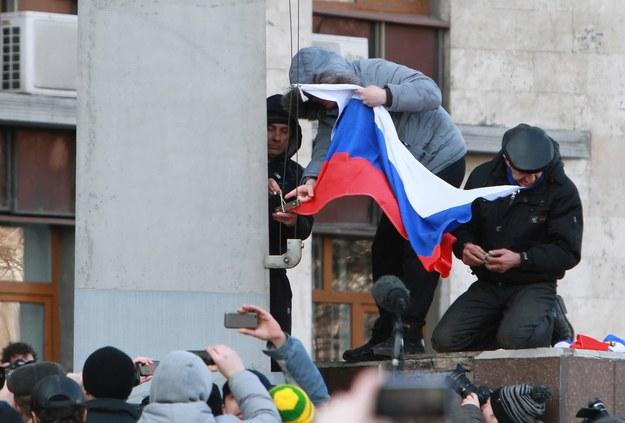"""Krym: """"Nie złożymy broni. Mamy dużo materiałów wybuchowych"""""""