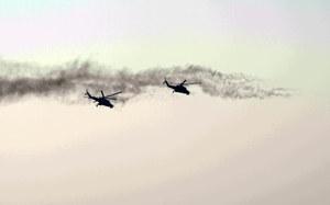 Krym: Rosyjskie śmigłowce wleciały na terytorium Ukrainy