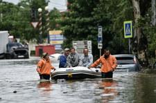 Krym: Silne opady, wielu rannych