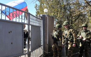 Krym: Ukraińscy żołnierze z bazy w Eupatorii apelują do mieszkańców miasta