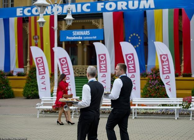 Krynica Zdrój - tam zaczyna się dzisiaj XXV Forum Ekonomiczne. Fot. Piotr Tracz /Reporter