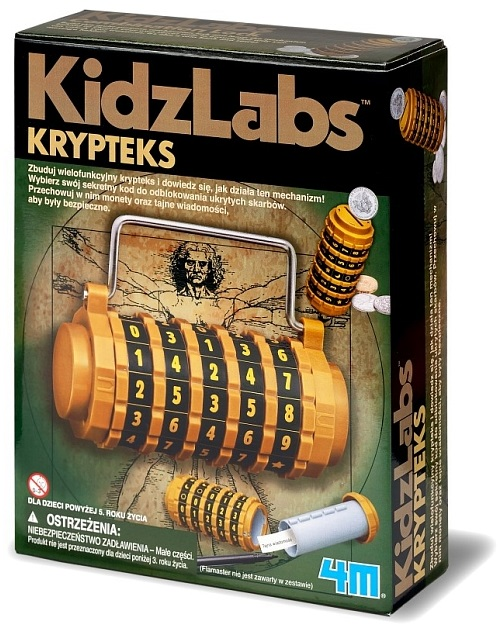 Krypteks to okazja do nauki przez zabawę /materiały prasowe