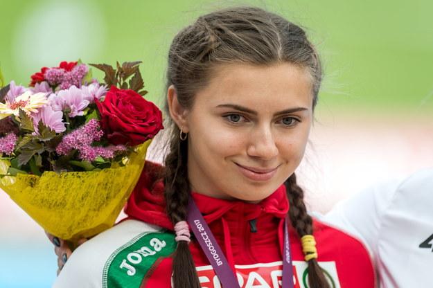 Kryscina Cimanouska (zdjęcie z 2017 roku) /Tytus Żmijewski /PAP