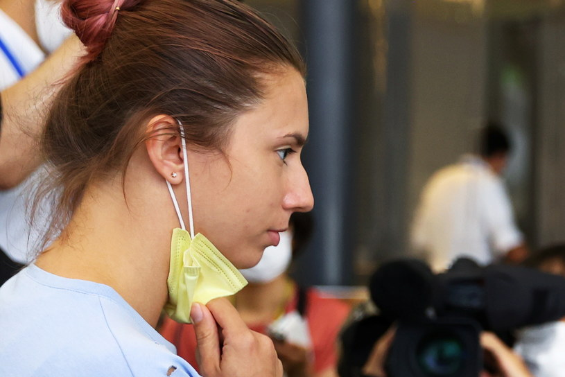 Kryscina Cimanouska /KIM KYUNG-HOON / Reuters / Forum /Agencja FORUM