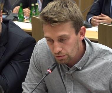 Krystian Dziubiński o zadłużeniu wobec hokeistów. Wideo
