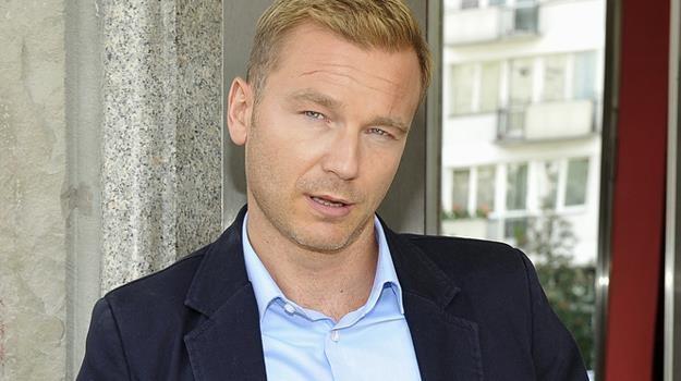 Krystian Wieczorek uchodzi za jednego z najprzystojniejszych polskich aktorów / fot. Mieszko Piętka /AKPA