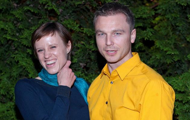 Krystian Wieczorek ze swoją byłą dziewczyną /MWMedia
