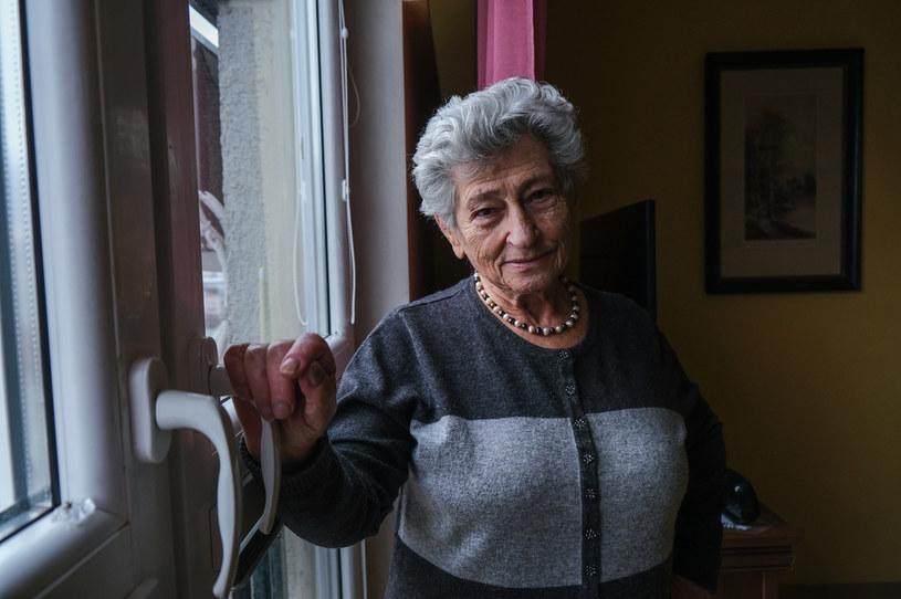 Krystyna Budnicka, która przebywała w getcie warszawskim przez 3,5 roku, z czego 9 miesięcy ukrywała się pod ziemią w bunkrze /Getty Images