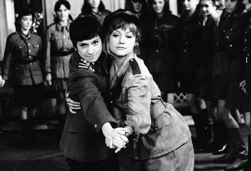"""Krystyna Chimanienko w filmie """"Rzeczpospolita babska"""" /archiwum Filmu    /Agencja FORUM"""