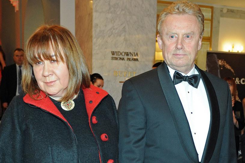 Krystyna Demska i Daniel Olbrychski  /Andras Szilagyi /MWMedia