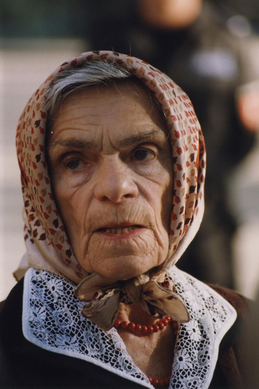 Krystyna Feldman, 1999 rok /Niemiec /AKPA
