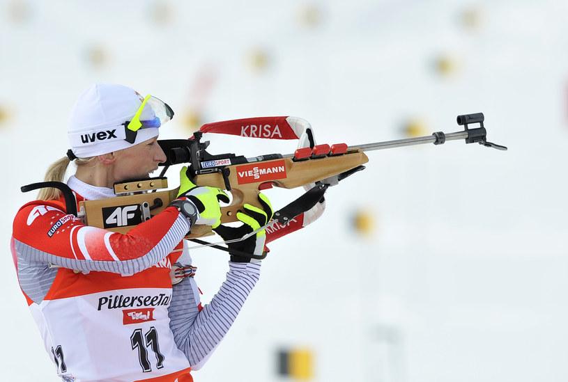 Krystyna Guzik jest obecnie liderką polskiej reprezentacji /AFP