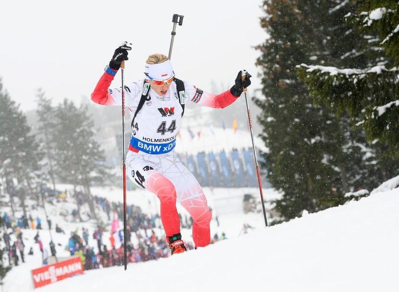 Krystyna Guzik podczas mistrzostw świata w Oslo /AFP