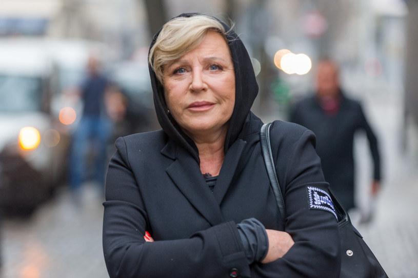 Krystyna Janda czeka na koniec pandemii /Artur Zawadzki/REPORTER /East News